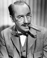 """As Groucho Marx used to say – """"I find television very educational. Every time someone switches it on I go into another room and read a good book."""""""