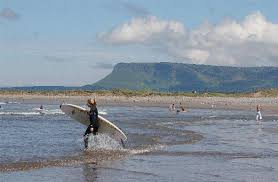 Strandhill: sea, sand, seagulls and surfers!