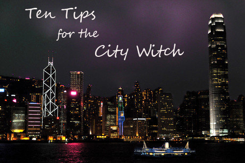 ten tips for the city witch
