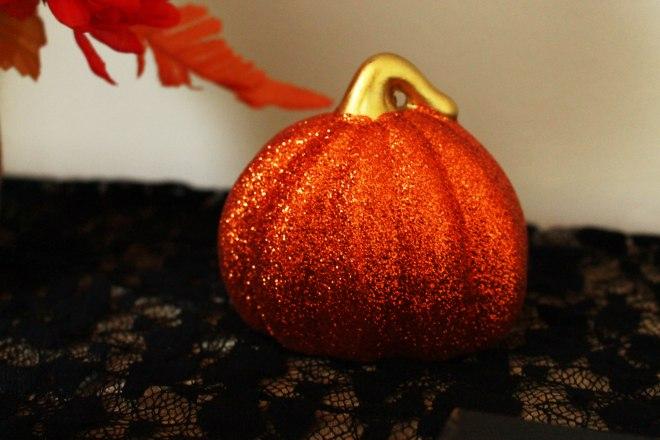 Samhain Glitter Pumpkin