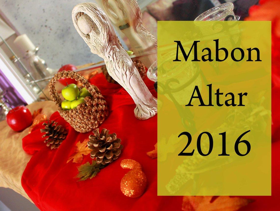 mabon altar 2016