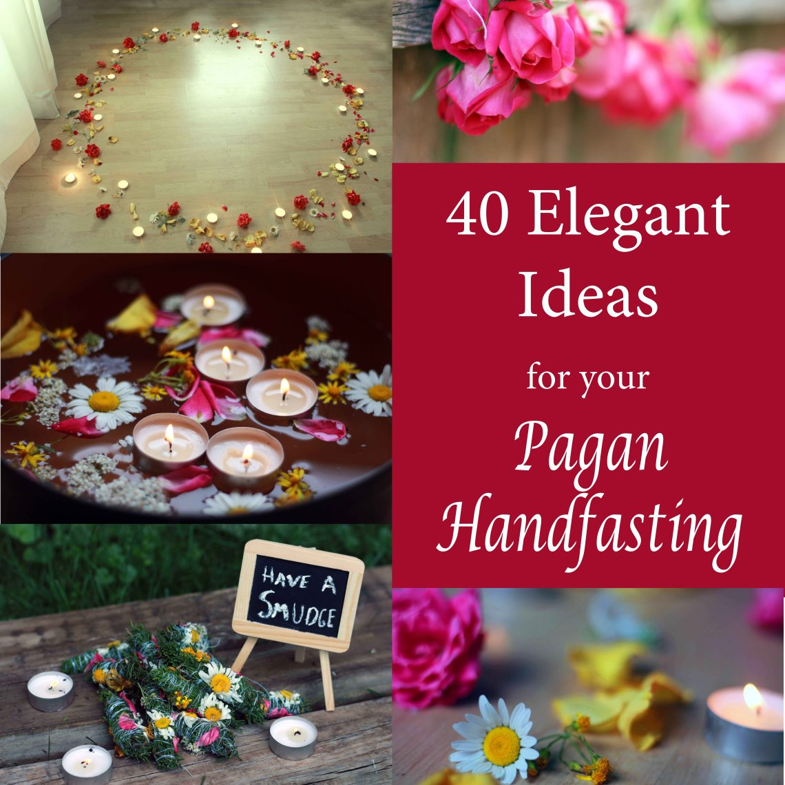 40 elegant ideas for your pagan handfasting
