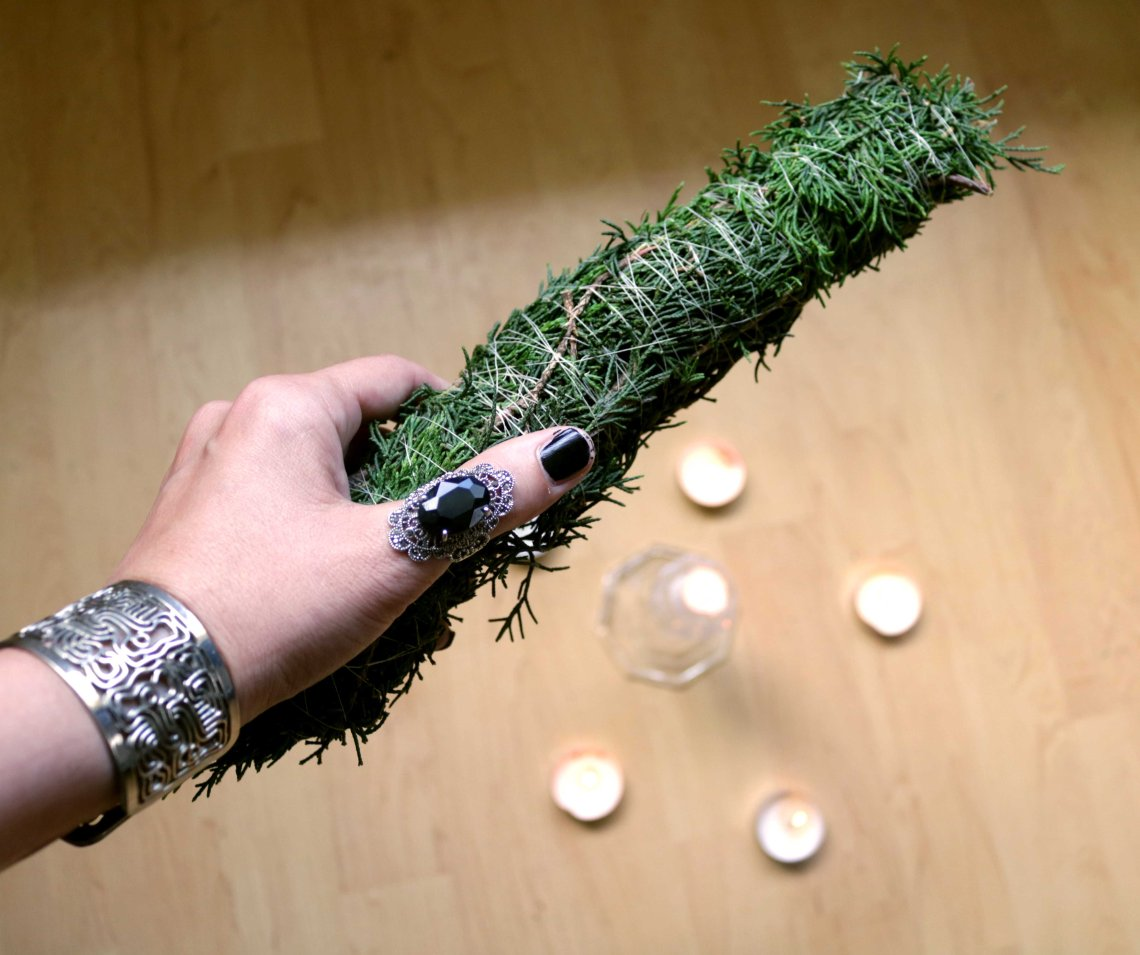 huge smudge stick