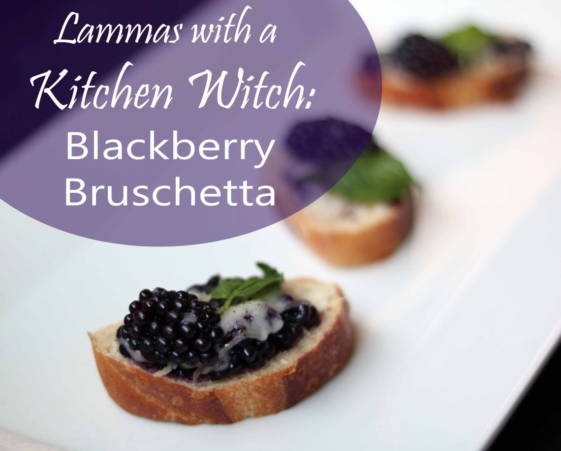 lammas with a kitchen witch