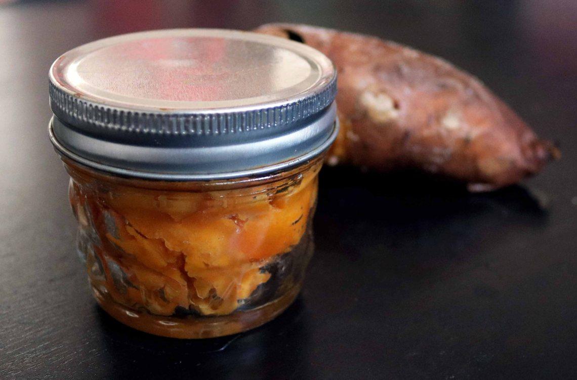 sweet potato mash