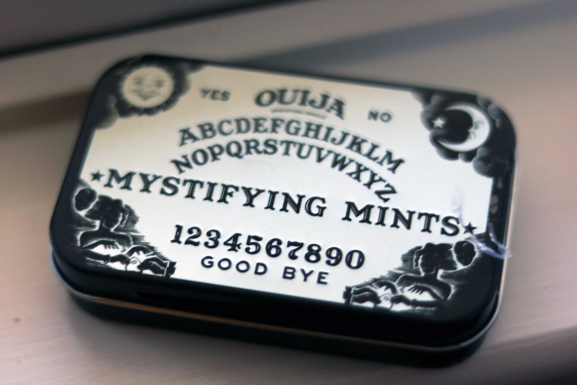 mystifying ouiji board mints