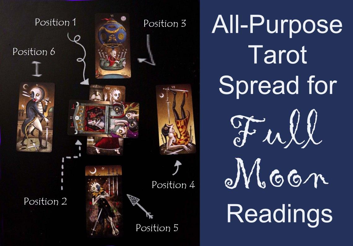 full moon tarot spread