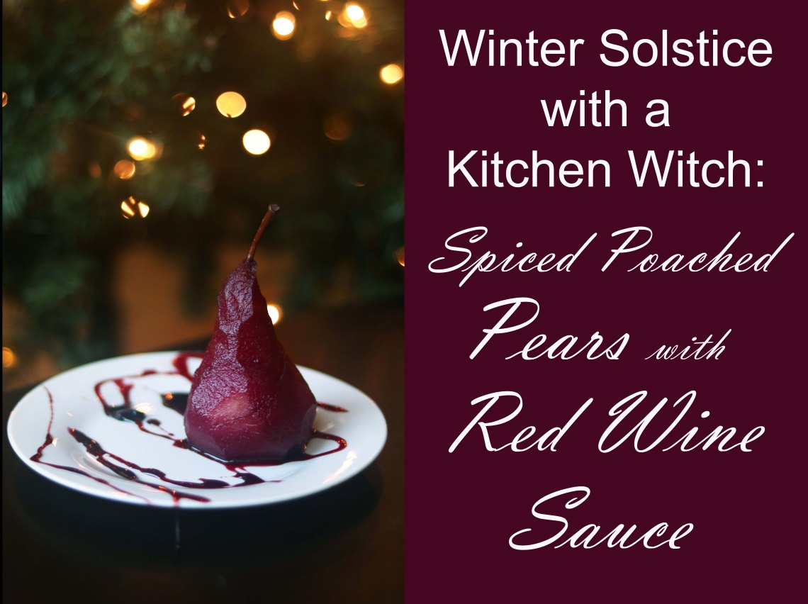 winter solstice with a kitchen witch