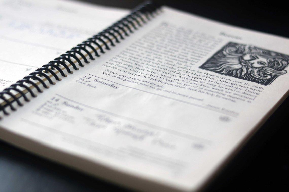 llwelelyn datebook review