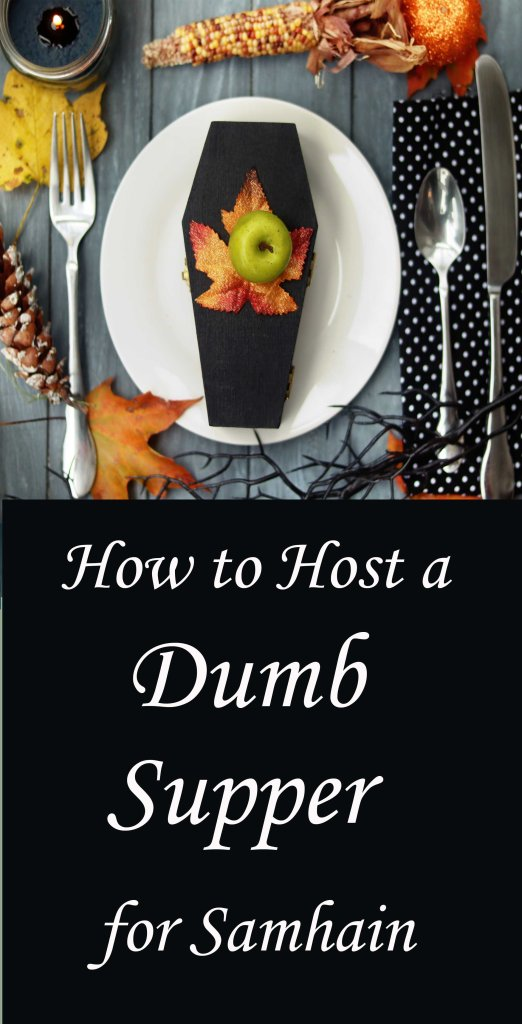 How to host a Wiccan dumb supper.