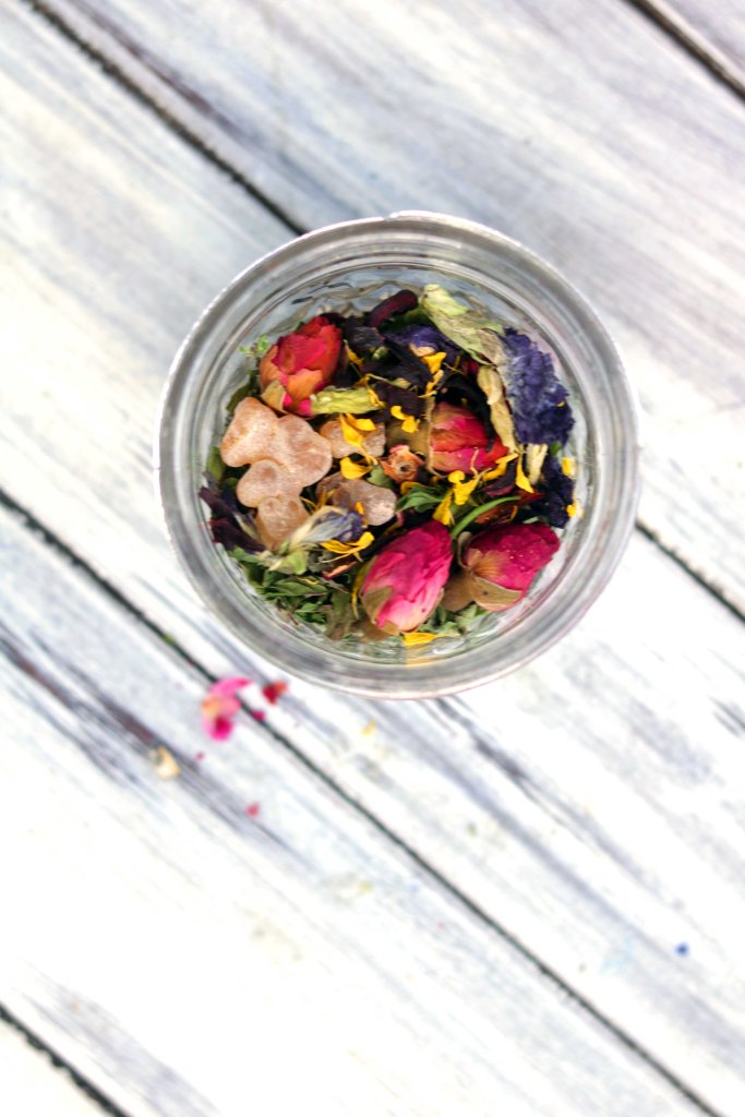 Faerie loose incense botanical spell potion for Litha, Beltane and Lammas.