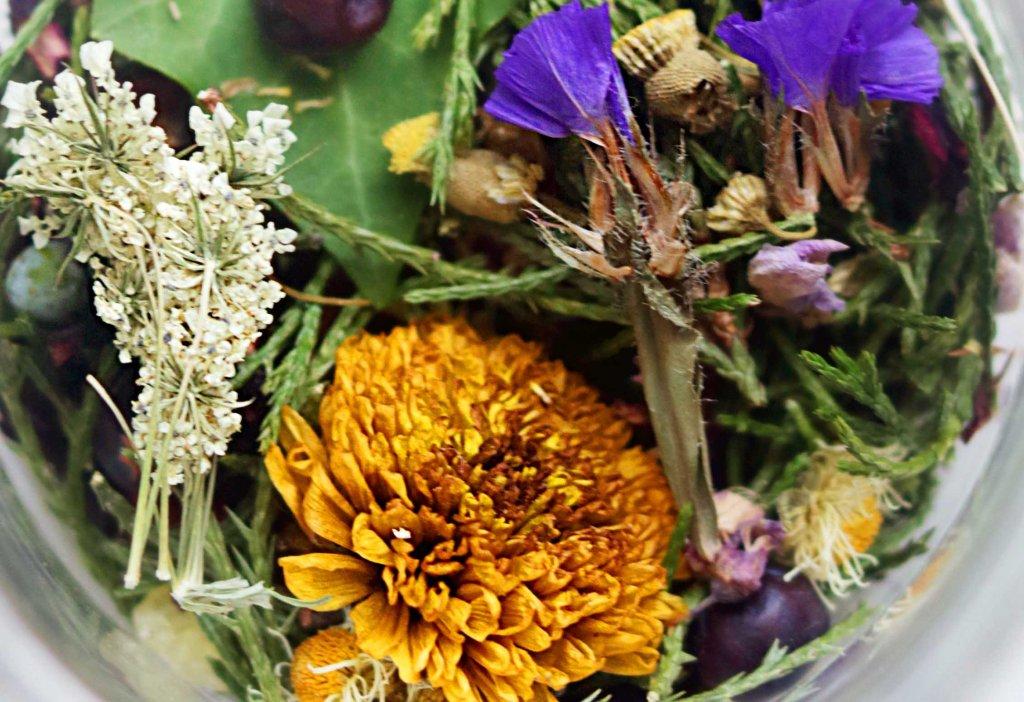 Celtic witch floral loose incense blend.