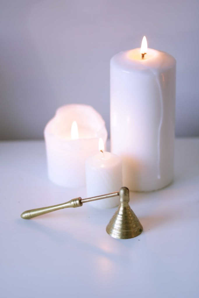 White and gold are traditional colors for Candlemas.