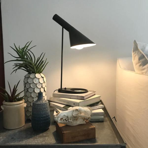 Aj table lamp black