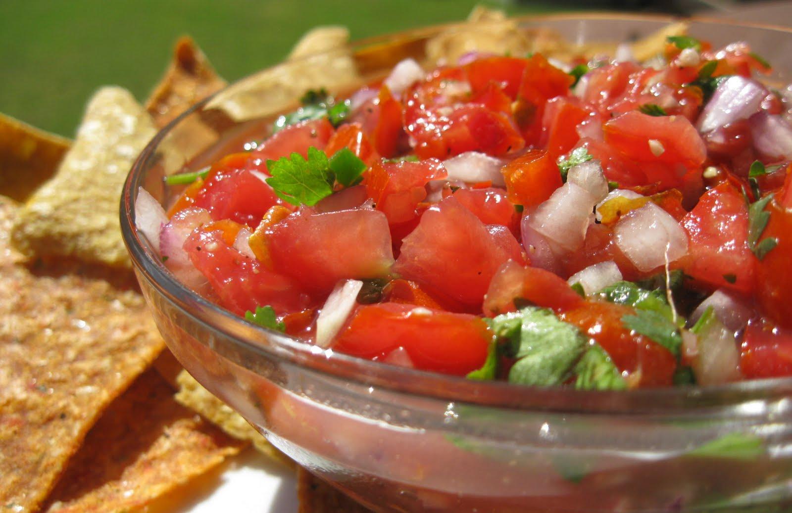 Hot salsa voor de barbecue