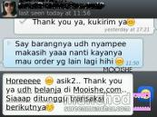 Happy customers of Mooishe.com. Be part of them, click: www.mooishe.com! ;)