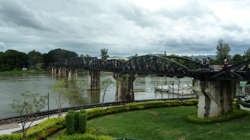 Kanchanaburi & de Birmaspoorlijn