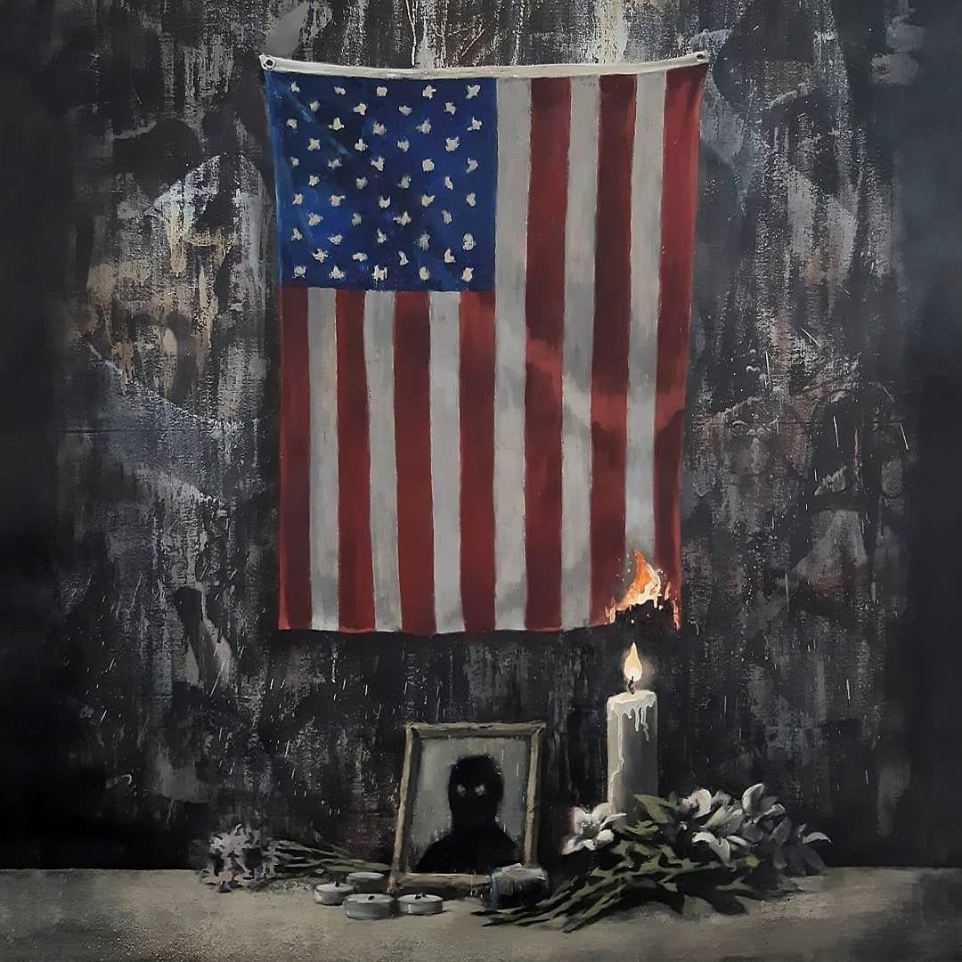 Ilustración del artista Banksy.