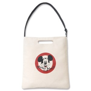 レトロミッキーマウスがプリントされた付録のバッグ