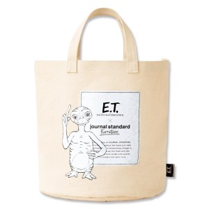 E.T. × journal standard Furniture 収納トートバッグ BOOK