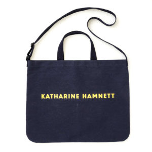 2019年3月発売KATHARINE HAMNETT BIGエコショルダーバッグBOOK