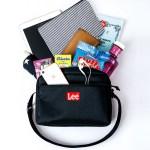 2019年9月発売ムック本Lee SHOULDER BAG BOOK RED付録のバッグとポーチ
