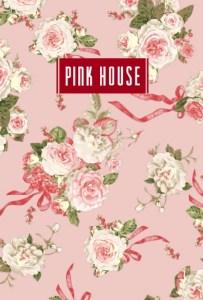 ピンクハウス2020年度スケジュール手帳表紙