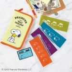 セブン限定SPRiNG 2020年2月号増刊雑誌付録のSNOOPYお金が貯まる電卓つきポーチ