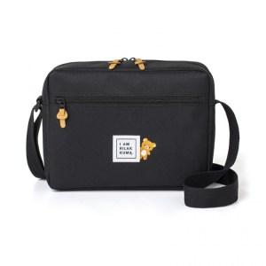 ローソン限定ムック本リラックマ SHOULDER BAG BOOK BLACK ver.付録のショルダーバッグ