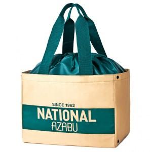 2020年11月発売ムック本NATIONAL AZABU 保冷もできるショッピングバッグ&極小にまとまるエコバッグBOOKの付録
