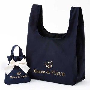 2021年4月発売コンビニ限定ムック本Maison de FLEUR MY ECO BAG BOOK ネイビー付録
