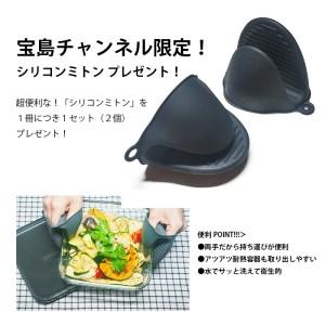 山本ゆりのおいしいレシピBOOK 限定カラーのiwaki耐熱容器つきノベルティ