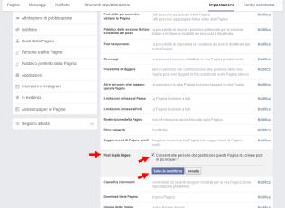 Come attivare l'opzione post multilingua nelle pagine Facebook - 1
