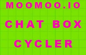 MooMoo.io Chat Box Cycler Mod