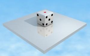 【3DCG】Blenderで作ったサイコロ