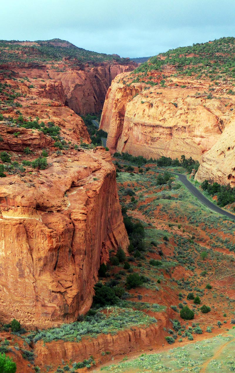 Burr Trail Road in Utah's Grand Staircase-Escalante National Monument