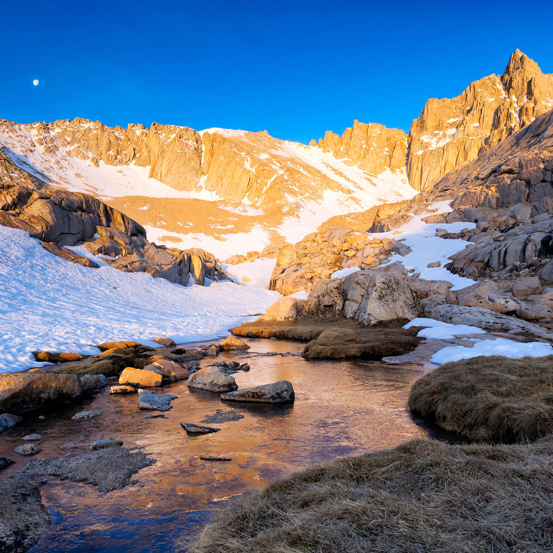 High Camp in the morning at Mount Whitney