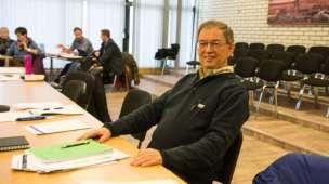 INNBYGGERFORSLAG: Terje Vollan (AL) fremmet et forslag som matchet innbyggerforslaget til Ørjan Vøllestad. (Foto: Mette-H. Berger Amundsen)