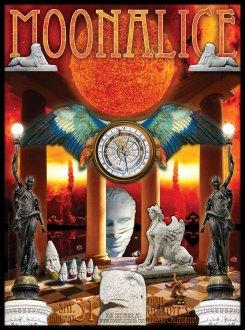1/31/09 Moonalice poster by Alexandra Fischer
