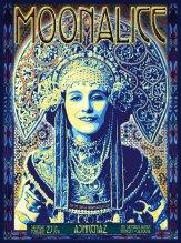 2/27/10 Moonalice poster by Alexandra Fischer