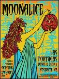 M331 › 10/30/10 Las Tortugas Dance of the Dead V, Yosemite, CA silkscreen poster by Alexandra Fischer