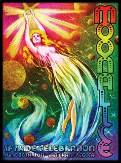 M384 › 6/26/11 SF Pride Celebration, San Francisco, CA poster by Alexandra Fischer