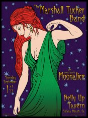 M634 › 9/01/13 Belly Up Tavern, Solana Beach, CA poster by Alexandra Fischer