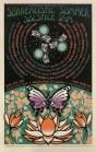 M990 › 6/21/17 Surrealistic Summer Solstice Jam at Conservatory of Flowers, San Francisco, CA silkscreen poster by Alexandra Fischer, Chris Shaw, & Gary Housto