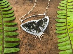 Epidote Quartz Necklace