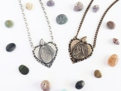 wild heart guadalupe necklace