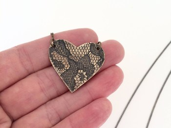 Fierce Heart Necklace