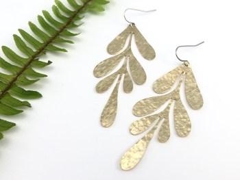 Laurel Leaf Earrings