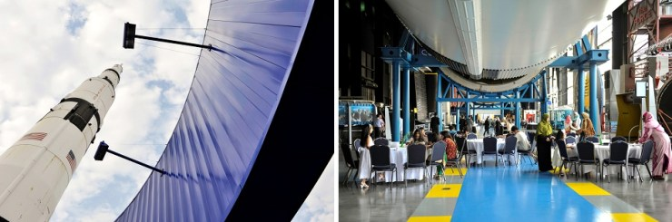 30 space and rocket center wedding