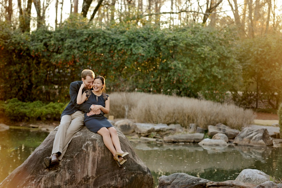 17 Birmingham al Beautiful Garden engagement pictures